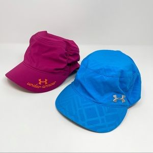 Under Armour Hats Blue Go Hat & Military Ruched